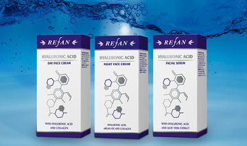 HYALURONIC ACID series of face care products with hyaluronic acid REFAN