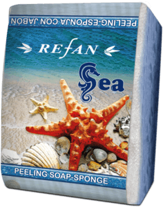 Soaps Peeling soap sponges PEELING SOAP-SPONGE SEA