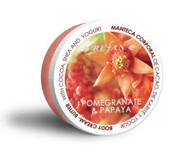 Pomegranate and Papaya Body cream-butter