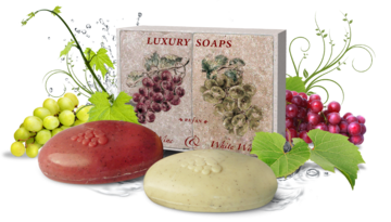 Soaps Specialized soaps Luxury Soaps Red Wine & White Wine