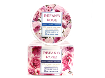 Body Cream Butter Refan's Rose