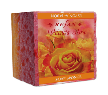 Valencia rose Soap sponge