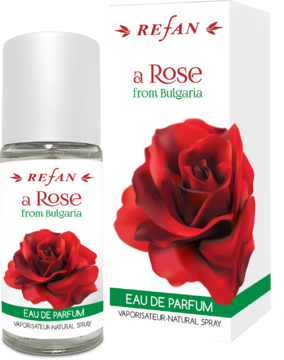 EAU DE PARFUM A ROSE FROM BULGARIA REFAN