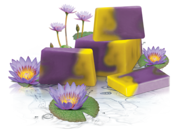 WATER LILY SERIES HANDMADE GLYCERIN SOAP