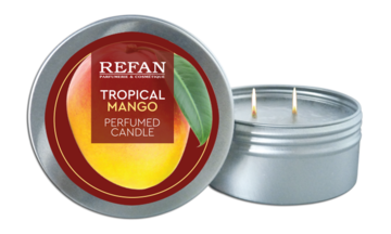 Perfumed candles in box Tropical Mango