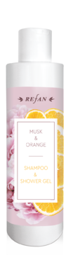 SHAMPOO AND SHOWER-GEL Musk&Orange