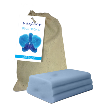 Blue Orchid Bar soap