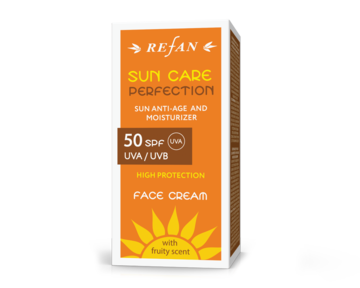 FACE CREAM  SPF 50 UVA/ UVB - SUN ANTI-AGE  AND MOISTURIZER