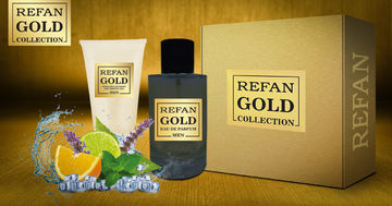 REFAN GOLD COLLECTION MEN SET REFAN GOLD COLLECTION MEN 407