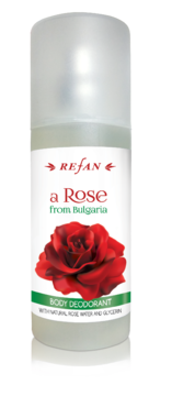 BODY DEODORANT A ROSE FROM BULGARIA REFAN