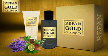 REFAN GOLD COLLECTION MEN SET REFAN GOLD COLLECTION MEN 203