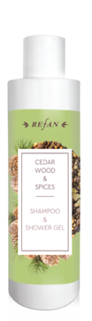 Cedar wood&Spices SHAMPOO AND SHOWER-GEL