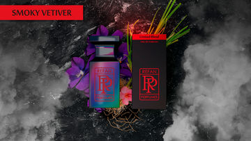 LIMITED BLEND eau de parfum SMOKY VETIVER by REFAN