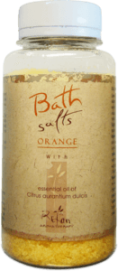 Bath salts Bath salts with essential oil of orange 250g