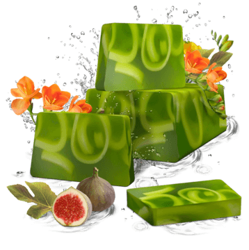 Soaps Soaps per kilo Fig & Freesia