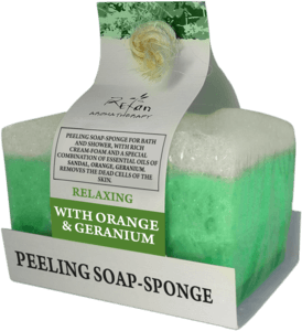 Soaps Peeling soap sponges RELAXING aromatherapy soap