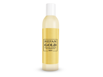 PERFUMED SHAMPOO AND SHOWER GEL REFAN GOLD MEN 407