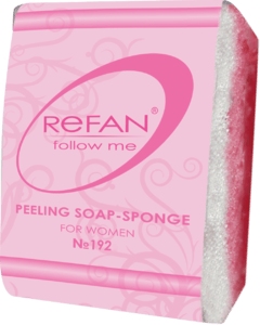 Soaps Peeling soap sponges PEELING SOAP-SPONGE REFAN FOLLOW ME FOR WOMEN 192