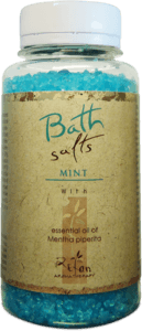 Bath salts Bath salts with essential oil of mint 250g