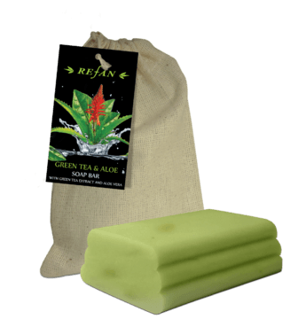 Green tea and aloe Soap bar