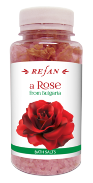 BATH SALTS A ROSE FROM BULGARIA REFAN