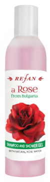 SHAMPOO AND SHOWER GEL  A ROSE FROM BULGARIA REFAN