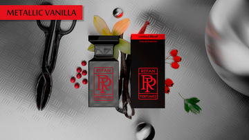 LIMITED BLEND eau de parfum METALLIC VANILLA by REFAN