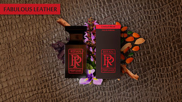LIMITED BLEND eau de parfum FABULOUS LEATHER by REFAN