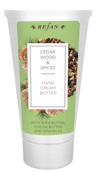 Cedar wood&Spices HAND CREAM BUTTER