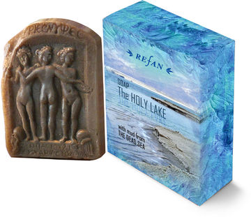 The Holy Lake soap with mud from the Dead Sea