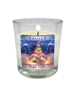 Velas Velas de Natal Magic light