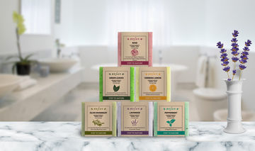 Herbal soaps - STEP TO NATURE - AROMATHERAPY