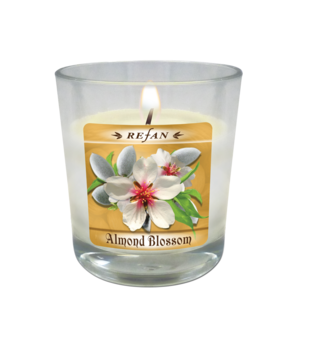 Candles Soy candles Almond Blossom