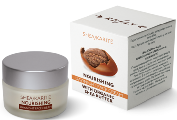 Nourishing  day/night face cream contains organic shea butter REFAN