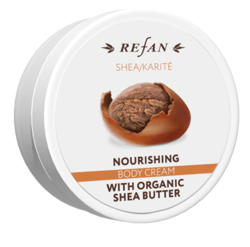 Nourishing body cream Shea REFAN