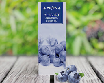 Yogurt and Еlderberry Shower gel