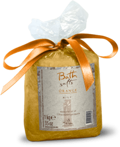 Bath salts Orange - 1 kg.