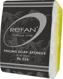 Soaps Peeling soap sponges Perfumed peeling soap-sponge No 226