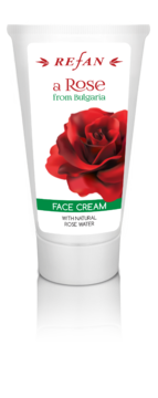 "FACE CREAM  ""A ROSE FROM BULGARIA "" REFAN"
