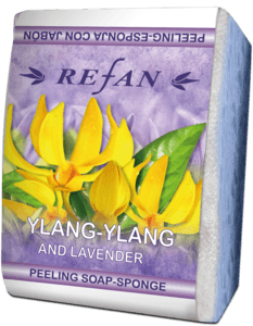 Soaps Peeling soap sponges Peeling soap-sponge - Lavender and Ylang
