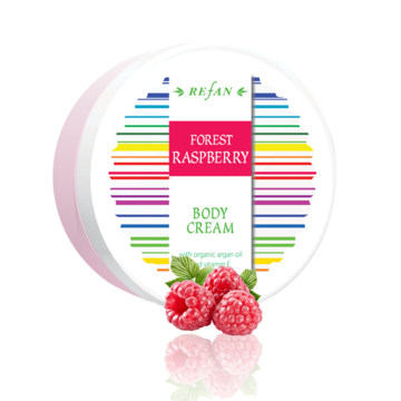 Body cream Forest Raspberry