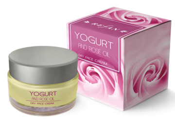 Yogurt and Rose oil Day face cream