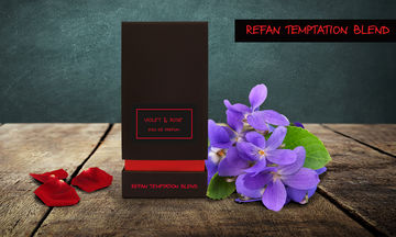REFAN TEMPTATION BLEND VIOLET & ROSE