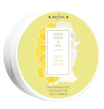 BODY CREAM BUTTER  Lemon cream&Milk