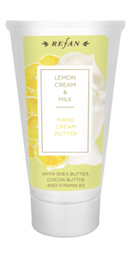 Lemon cream&Milk HAND CREAM BUTTER