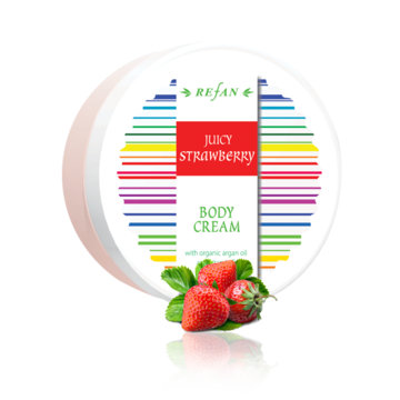 Creme para o corpo Juicy Strawberry