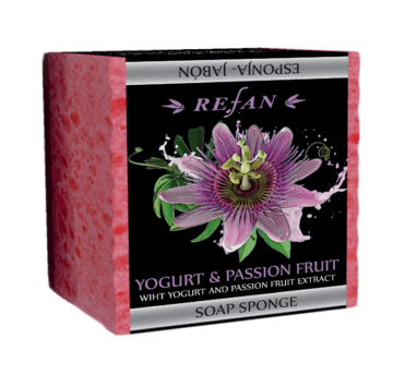 Yogurt & Passion Fruit Sabonete-esponja